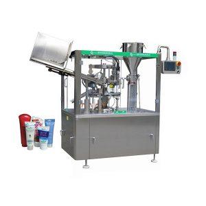מכונת מילוי ואיטום צינור משחה לעור רך