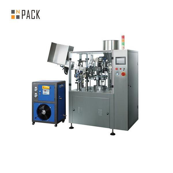 מכונת איטום למכונת מילוי צינורות רכות אוטומטית
