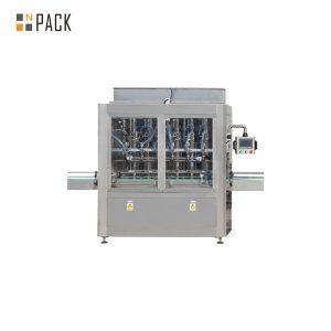 מכונת מילוי בוכנות ישר ליניארית אוטומטית לשמן אתרים
