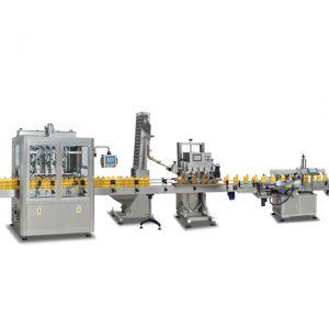 מכונות מילוי בקבוק sus304 אוטומטיות מלאות 2 מתוך 1 להכנת שמן זית