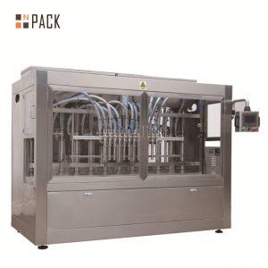 מכונת מילוי חרירי נוזל / רסק / רוטב / דבש אוטומטית 8