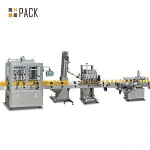 מכונת מילוי בוכנות ריבה, מכונת מילוי רוטב חמה אוטומטית, קו ייצור של רוטב צ'ילי