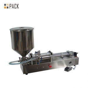 מכונת מילוי גלידה פופולרית מאוד / מכונת מילוי ראשים כפולים / מכונת מילוי לק