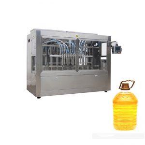 מכונת אריזת מילוי שמן דלי חרדל אוטומטית מלאה
