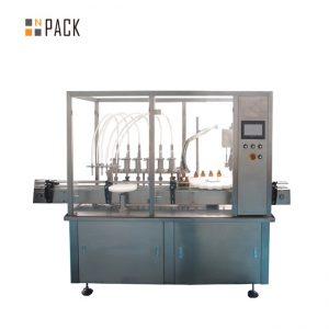 מכונות מילוי שמן אתרי כובע מילוי 10-100ml נוזל E מכונת מילוי מיץ מילוי מיץ