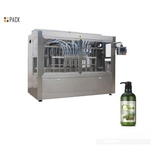 מכונת מילוי שמפו לרחצה ידנית אוטומטית בבקבוקים