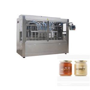 מכונת מילוי דבש אוטומטית / מכונת מילוי ריבה אוטומטית / מכונת מילוי כביסה נוזלית