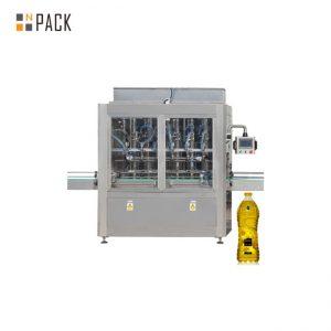 מכונה מילוי בקבוק לחיות מחמד למכונת מנוע אוטומטית מכסת מכסה עם תעודת GMP