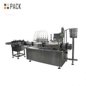 מכונת מילוי נוזלית ושמנת דיגיטלית רב ראשים